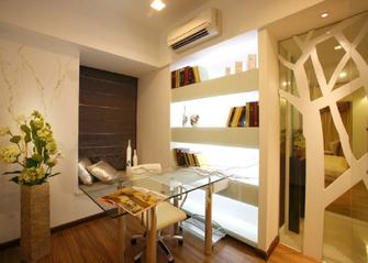 140平米三欧式风格书房装修案例