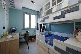 90平米三混搭风格儿童房效果图