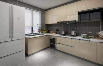 110平米一居室北欧风格厨房图