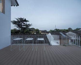140平米田园风格阳台欣赏图