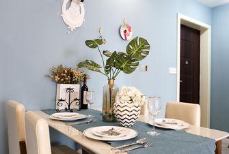 90平米三室两厅北欧风格餐厅图片大全