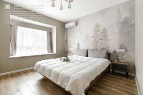 140平米三室兩廳北歐風格臥室效果圖