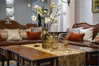 豪华型140平米三室两厅新古典风格书房欣赏图