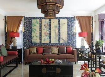 100平米三室一厅东南亚风格客厅效果图