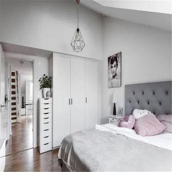 70平米别墅现代简约风格卧室效果图