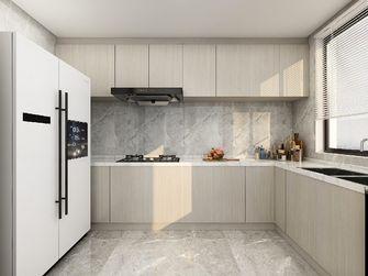 60平米现代简约风格厨房图片