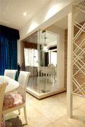 110平米公寓地中海风格餐厅装修图片大全