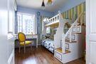 110平米三室两厅地中海风格儿童房图