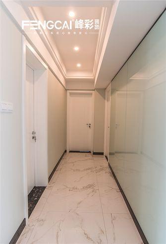 140平米四室三厅现代简约风格走廊欣赏图