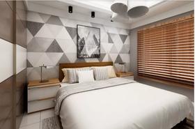 80平米三現代簡約風格臥室裝修效果圖