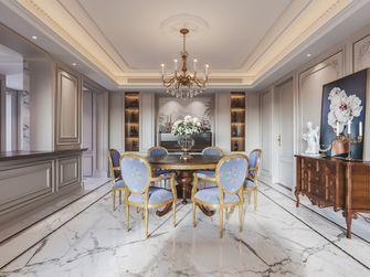 富裕型130平米三室两厅新古典风格餐厅设计图