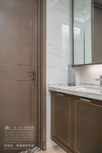 140平米四室四厅现代简约风格卫生间图