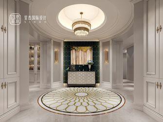 140平米复式美式风格玄关图片