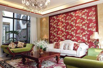 90平米东南亚风格客厅欣赏图
