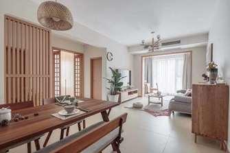 90平米三室三厅宜家风格客厅设计图