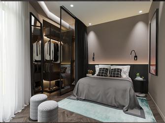 140平米四室一厅现代简约风格卧室图