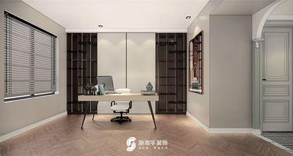 140平米四欧式风格书房装修效果图