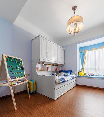 90平米英伦风格儿童房图片大全