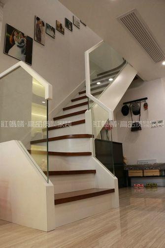 20万以上140平米复式现代简约风格楼梯图片