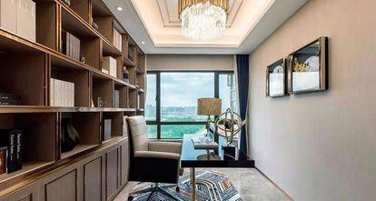 130平米三室两厅美式风格书房装修案例