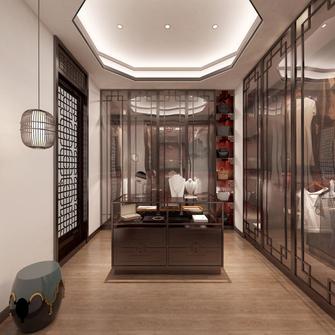 140平米别墅新古典风格衣帽间装修案例