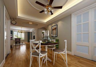 140平米四室四厅地中海风格餐厅设计图