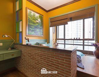 60平米公寓东南亚风格卧室图片