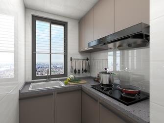 5-10万60平米现代简约风格厨房图片大全