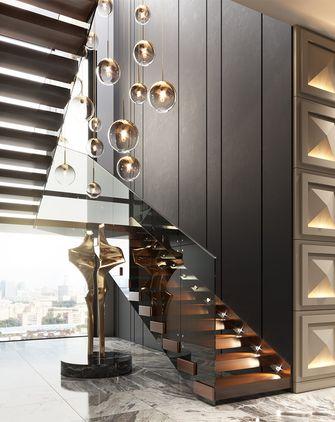 110平米三室两厅混搭风格楼梯间装修案例