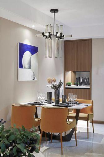 70平米三室两厅现代简约风格餐厅装修案例