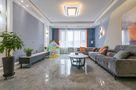 130平米三室三厅混搭风格客厅装修图片大全