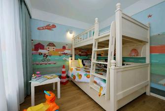 130平米三北欧风格儿童房设计图
