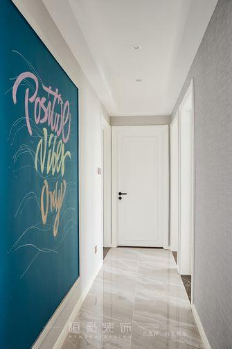 15-20万80平米三室两厅北欧风格走廊图