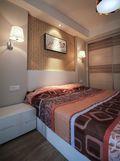 80平米北欧风格卧室家具效果图