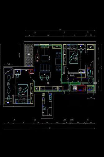 null风格卧室欣赏图