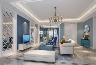 富裕型80平米地中海风格客厅效果图