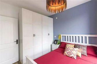 80平米三室两厅田园风格卧室图片大全