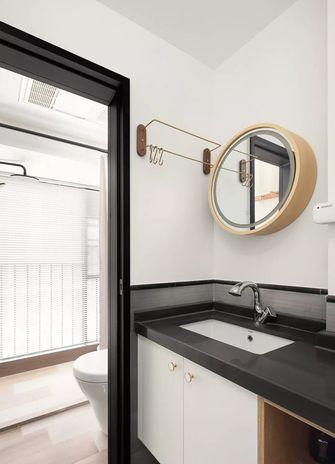 50平米一室一厅日式风格卫生间装修图片大全