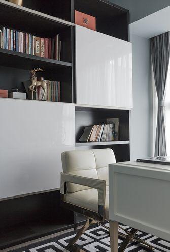 140平米三室一厅混搭风格书房设计图
