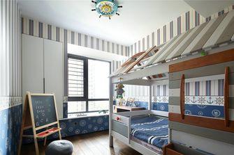 130平米三室两厅现代简约风格儿童房图