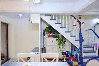 20万以上120平米复式地中海风格楼梯间装修效果图
