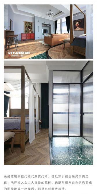 50平米一室一厅混搭风格卧室图片大全