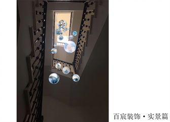 140平米别墅混搭风格楼梯间装修案例