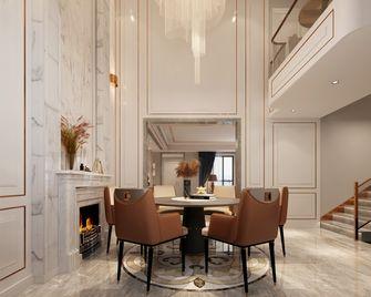 140平米复式欧式风格餐厅图片