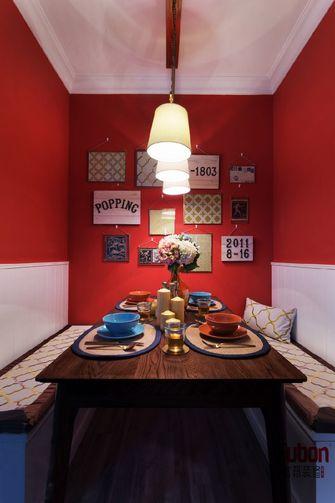 100平米三室五厅混搭风格餐厅设计图