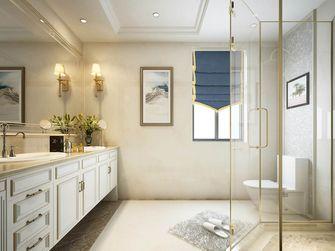 140平米别墅欧式风格卫生间设计图
