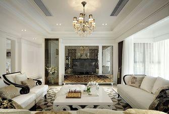 120平米四室两厅新古典风格客厅图片