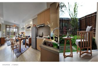 50平米小户型田园风格其他区域设计图
