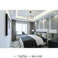 豪华型140平米四法式风格卧室图