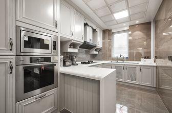 140平米一室两厅北欧风格厨房欣赏图